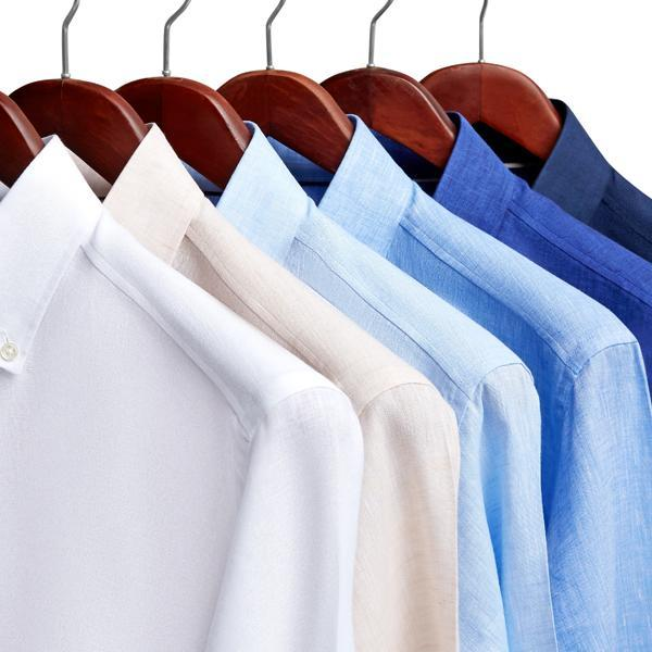 koszule nawieszakach